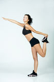 Fitness lady Stock Photography