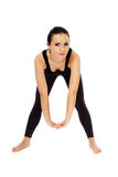 Fitness lady stretching Stock Photography