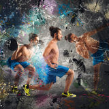Fitness lesson Royalty Free Stock Images