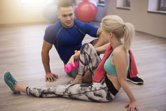 Fitness life Stock Photography