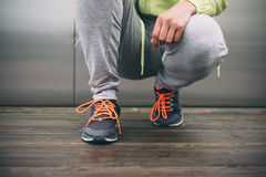 Fitness lifestyle and running concept Stock Photography
