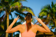 Fitness lifestyle and workout success Royalty Free Stock Photography