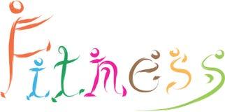 Fitness logo Stock Photo