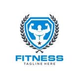 Fitness Logo Template Stock Photo