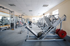 Fitness machines Stock Photos