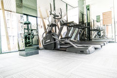 Fitness machines Royalty Free Stock Image