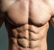 Fitness male Stock Images