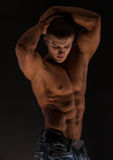 Fitness male torso Royalty Free Stock Photos