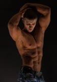 Fitness male torso Royalty Free Stock Photos