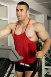 Fitness man Stock Photo