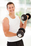 Fitness man exercises Royalty Free Stock Images