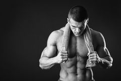 Fitness man Royalty Free Stock Photo