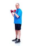 Fitness man. Royalty Free Stock Photo
