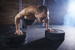 Fitness man. Physical activity good for your health Royalty Free Stock Photography