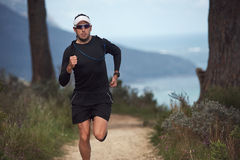 Free Fitness Man Running Royalty Free Stock Image - 41593756