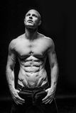 Fitness man with a sixpack Stock Photography