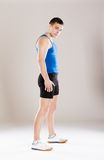 Fitness man Royalty Free Stock Images