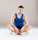 Fitness man Stock Images