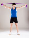 Fitness man Stock Photography