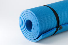 Fitness mat royalty free stock images