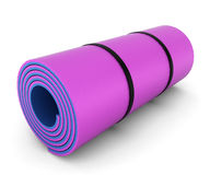 Fitness mat Stock Image