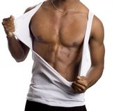 Fitness model Royalty Free Stock Image