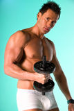 Fitness model. Royalty Free Stock Photography