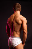 Fitness model with great back Royalty Free Stock Photos