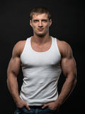 Fitness model Stock Photo