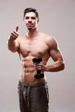 Fitness model. Stock Images