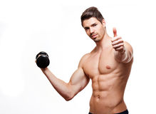 Fitness model. Royalty Free Stock Photos