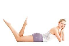 Fitness model posing, Stock Image