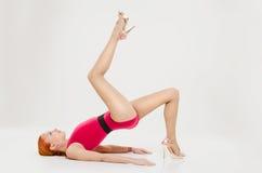 Fitness model posing Stock Photography