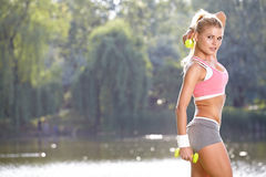 Fitness Model . Stock Images