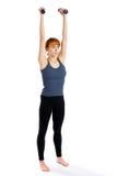 Fitness Model Training Royalty Free Stock Photography