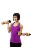 Fitness Model Royalty Free Stock Photo