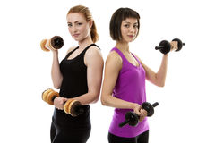Fitness Models Royalty Free Stock Image