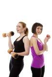 Fitness Models Royalty Free Stock Photos