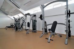 Fitness modern interior Royalty Free Stock Photo