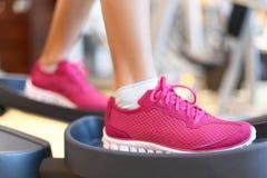 Fitness moonwalker treadmill equipment Royalty Free Stock Image