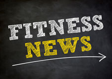 Fitness news Royalty Free Stock Photo