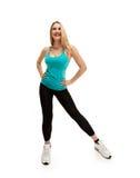 Fitness nice woman Stock Photo