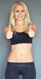 Fitness ok Stock Photo