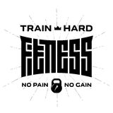 Fitness - original lettering. Vector print for t-shirt or gym  Royalty Free Stock Photos