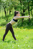 Fitness outdoors Royalty Free Stock Photo