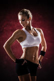 Fitness outfit Stock Images