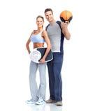 Fitness people Stock Photo