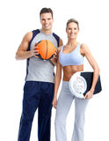 Fitness people Stock Image