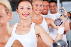Fitness people Royalty Free Stock Image
