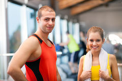 Fitness people Stock Photos